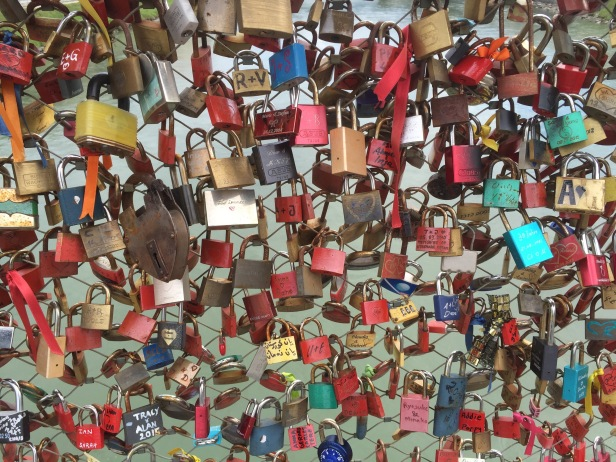 Lots of locks equals lots of love.