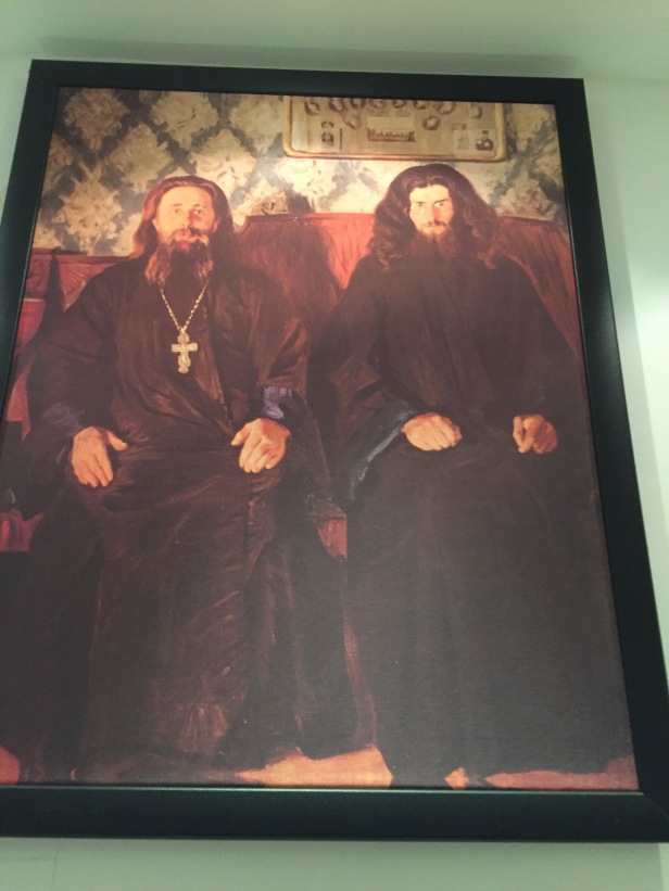 This painting of old Hungarian priests is of note because I think they look like they should be in a metal band.