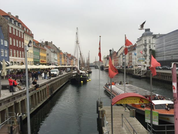 Copenhagen: Nyhavn and the canal. Right behind me as I took this picture was a busker with a clarinet playing My Heart Will Go On.