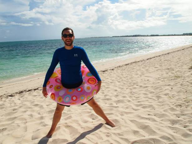 jake nix float donut turks and caicos