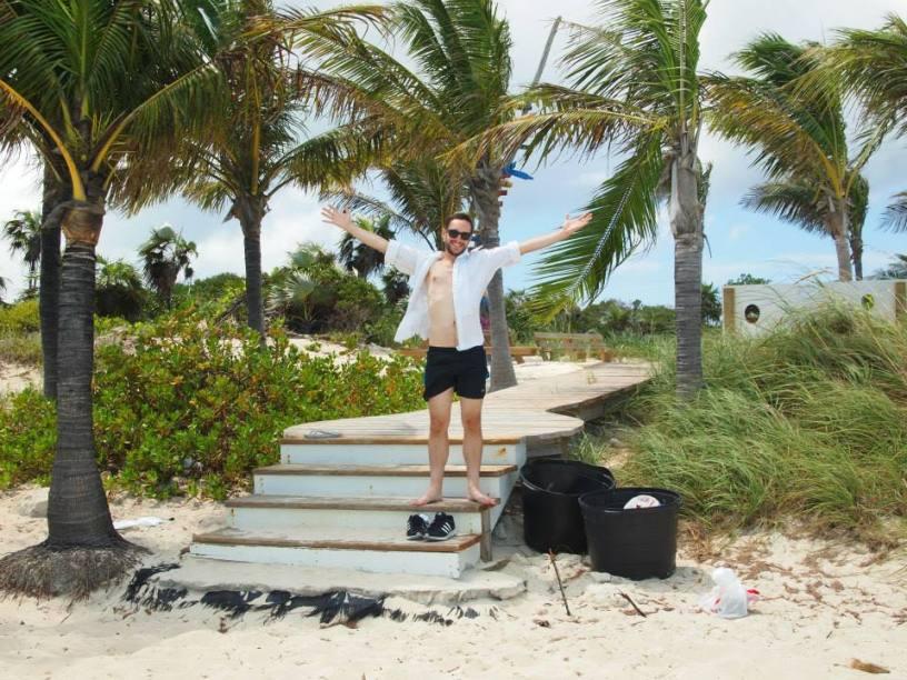 long bay beach Turks caicos islands